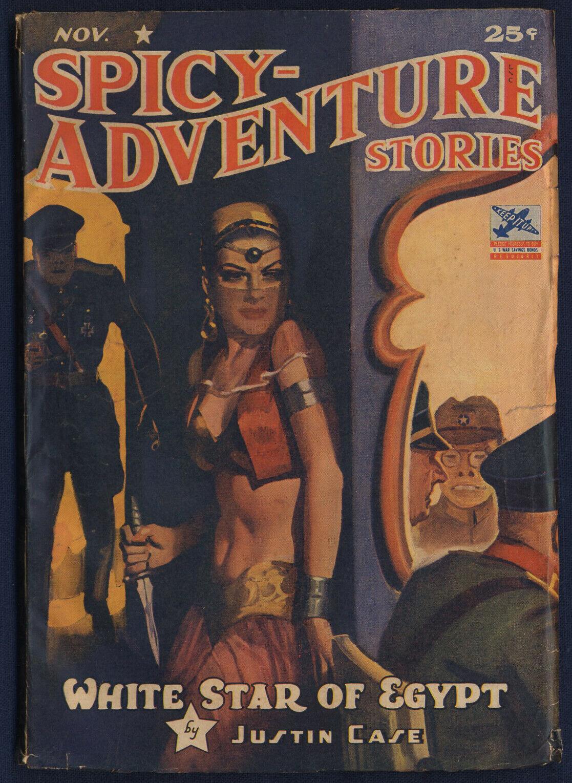 Spicy Adventure Stories - November 1942